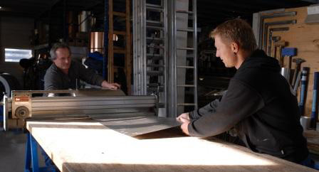 In unserer Spenglerwerkstatt schaffen wir termingerecht die erforderlichen wasserdichten An- und Abschlüsse.